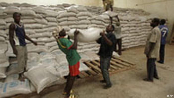 Hilfslieferungen im Niger