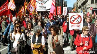 Španjolci prosvjeduju protiv politike štednje