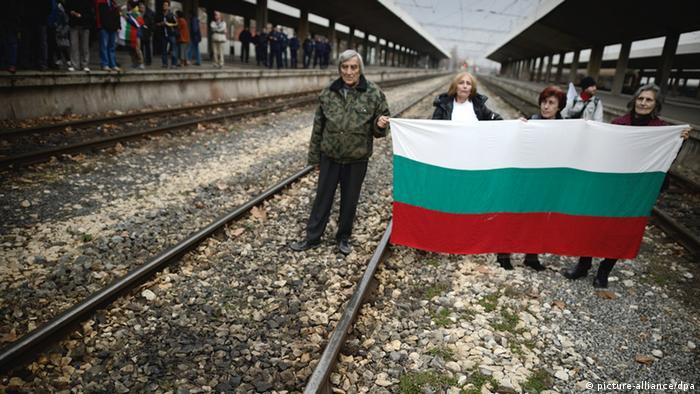 Bulgarien Demonstration Wahlrecht
