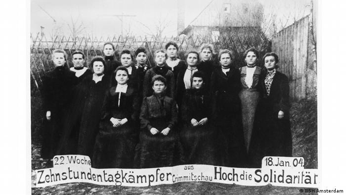 Labor protesters in 1904