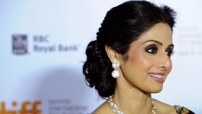 Indien Schauspielerin Sridevi