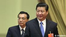 China Volkskongress Fortsetzung Xi Jinping