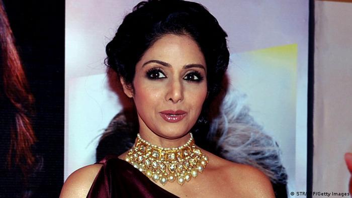 Indien Schauspielerin Sridevi (STR/AFP/Getty Images)