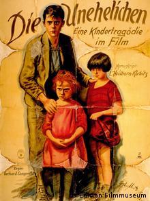 Historisches Filmplakat des Lamprecht-Films Die Unehelichen (Foto: DVD-Anbieter Edition Filmmuseum)