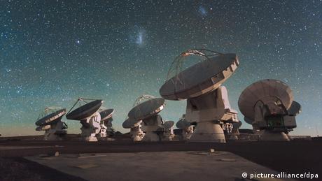 ALMA Super Teleskop in Chile