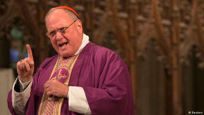 Der New Yorker Kardinal Timothy Dolan (Foto: Reuters)