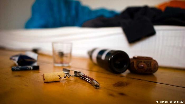 Alkohol, Zigaretten und Bett