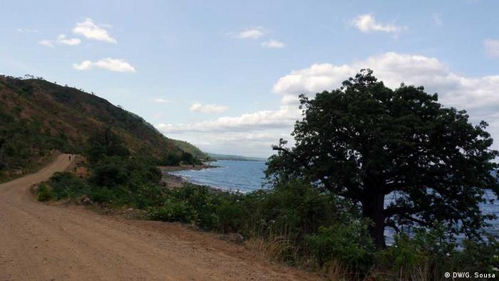 Malawi-See in Mosambik