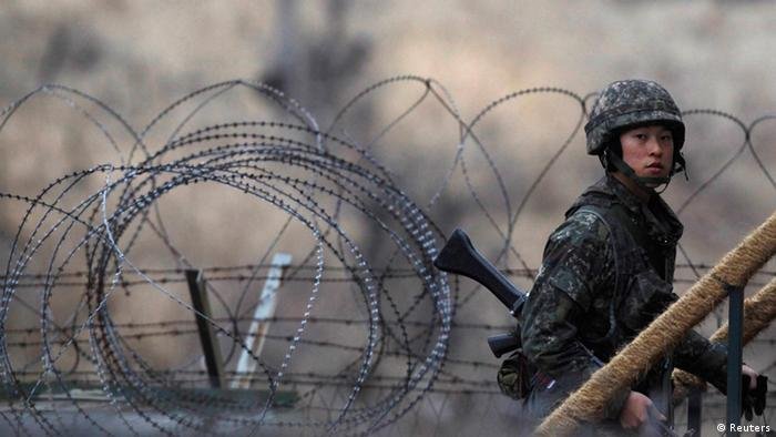 Second North Korean soldier defects over the DMZ in 40 days
