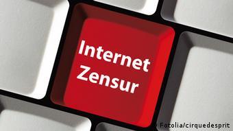 Symbolbild Internetzensur