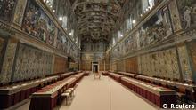 Vatikan Papstwahl Sixtinische Kapelle 2013