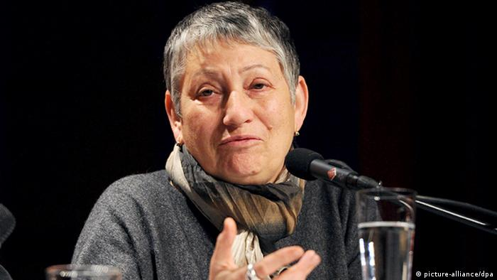 Российская писательница Людмила Улицкая