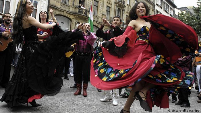 Tschechien Khamoro Fest der Roma in Prag