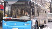 Lemberg Bus LAZ Ukraine Linienbus Stadtwerke