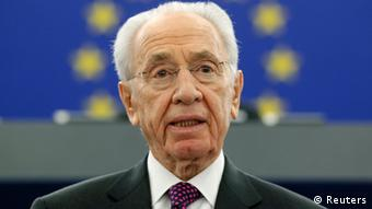 Peres Rede in Europaparlament 12.03.2013