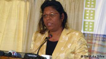 Vice-ministra da Saúde, Nazira Abdul, destaca planos do executivo moçambicano