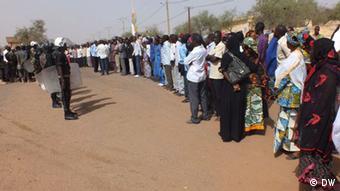 Niger Lehrer Streik.