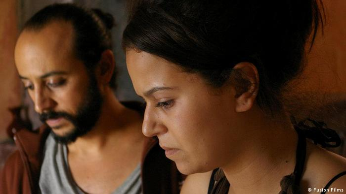 Main title: The disbelievers : When the art dialogues with the darkness forces Photo title: Esaam abou Ali and maria Lalouaz , Actors Place and, Date: Scene from The disbelievers Copyright\Photographer: Fusion Films