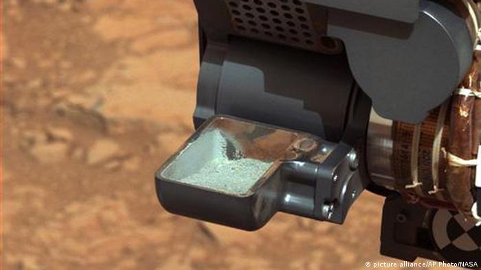 Mars Leben Curiosity