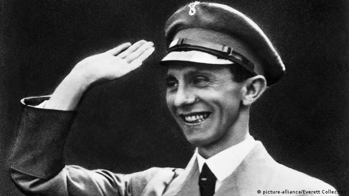 Propaganda minister Joseph Goebbels