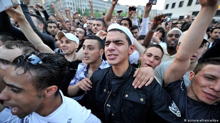 Salafisten in Frankfurt Hessen