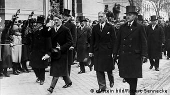 Deutschland Drittes Reich Tag von Potsdam Adolf Hitler und von Papen