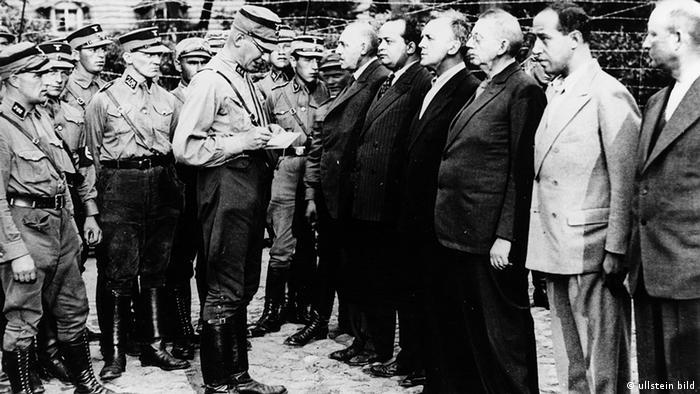 В концентрационния лагер Ораниенбург: членове на Социалдемократическата партия през 1933