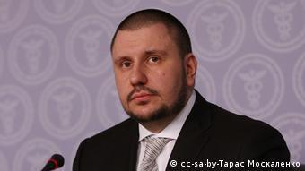 Ukraine Minister für Einkommen und Vertretung Oleksandr Klymenko (cc-sa-by-Тарас Москаленко)