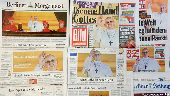 Papst Franziskus Reaktionen Deutsche Medien