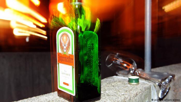 Flasche Jägermeister