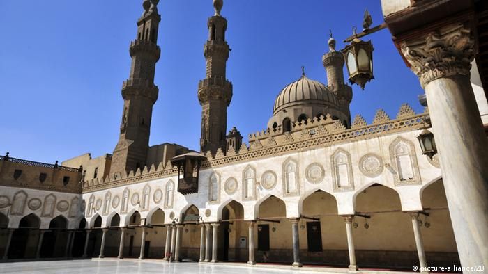 Ägypten Al Azhar Moschee in Kairo