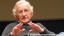 USA Professor für Linguistik Noam Chomsky