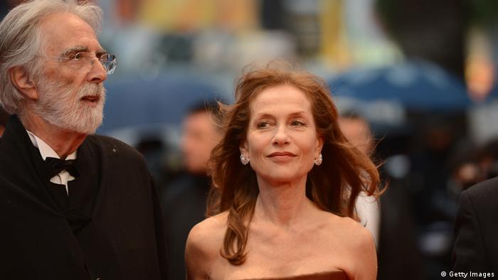 Isabelle Huppert and Michael Haneke (Foto: Getty Images)