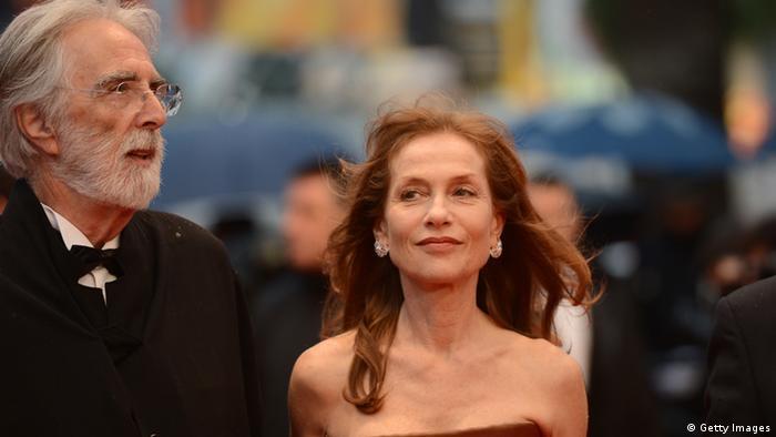 Isabelle Huppert und Michael Haneke (Foto: Getty Images)