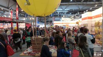 Schoolchidren and young people at the Leipzig Book Fair 2013