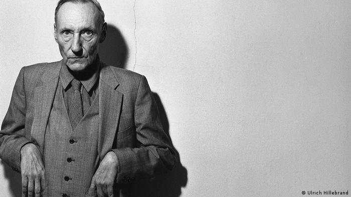 William S. Burroughs pictured in his New York apartment, dubbed The Bunker, in 1981.