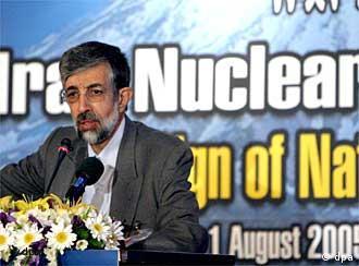 Parlamentspräsident Adel plädiert für harten Kurs im Atomstreit
