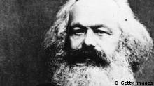 German social, political and economic theorist Karl Marx (1818 - 1883) the inspiration of modern international communism. (Photo by Henry Guttmann/Getty Images)