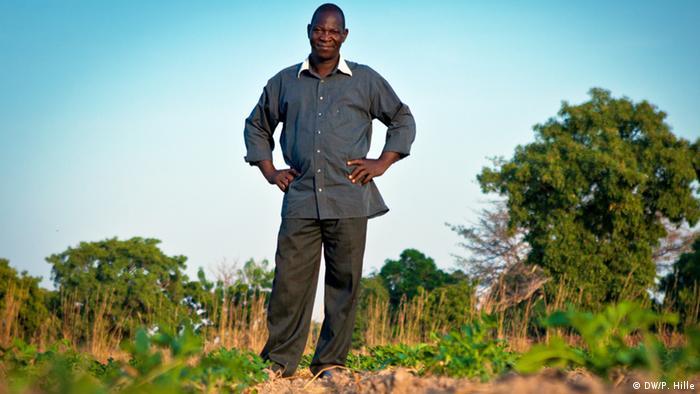 Pesalomo Ouédraogo é agricultor há 22 anos
