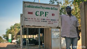 Burkina Faso Landwirtschaft Ouagadougou Bauernverband Generalsekretär Jules Zongo