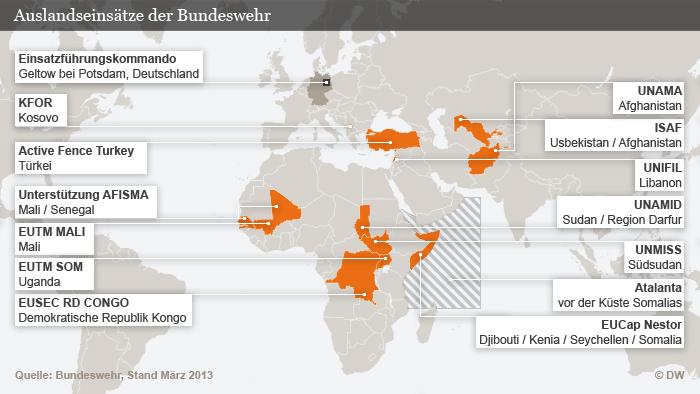 Mehr Bundeswehrsoldaten für UN-Friedensmissionen | Aktuell ...