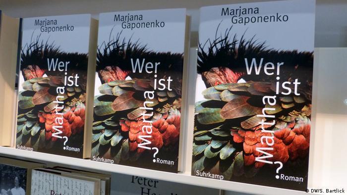 Leipziger Buchmesse 2013 Buch Wer ist Martha?