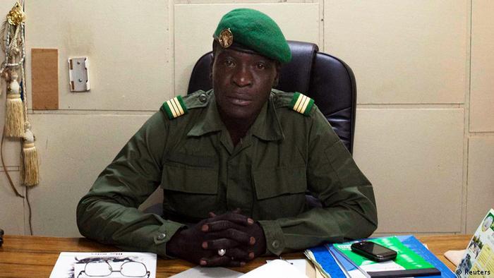 Amadou Sanogo a été inculpé en novembre 2013 pour le meurtre de 21 bérets rouges