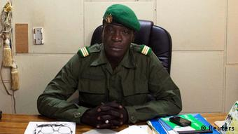 Malian Captain Sanogo who led coup in Mali.