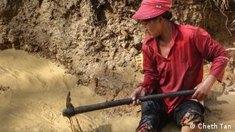 Mining is gaining popularity in Prey Lang forest, Cambodia.