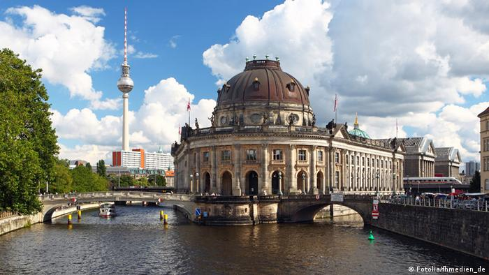 Bildergalerie Bilderrätsel Berlin Museumsinsel Bodemuseum