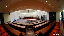 NSU Prozess Beate Zschäpe Gerichtssaal