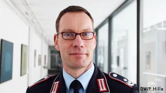 Oberstleutnant Jörg Bartl (Foto: DW)