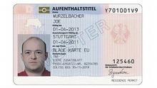 Description English: Blue Card EU (electronic version) in Germany Deutsch: Blaue Karte EU (elektronischer Aufenthaltstitel) in Deutschland Date 11 June 2012 Source Bundesgesetzblatt 2012, I S. 1230 Author Opihuck (talk)