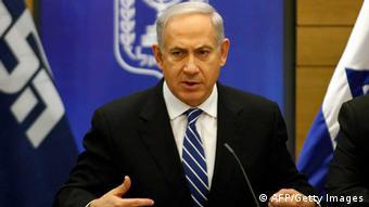 Israels Premierminister Benjamin Netanjahu (Foto: LI TIBBON/AFP/Getty Images)
